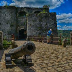 kanon kasteel van Bouillon