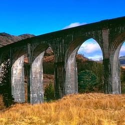 Glenfinnan Schotland Panorama