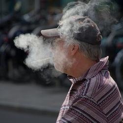 Als de rook...