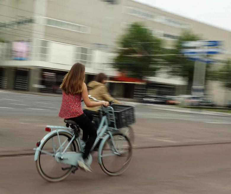 Op de fiets door Rotterdam -