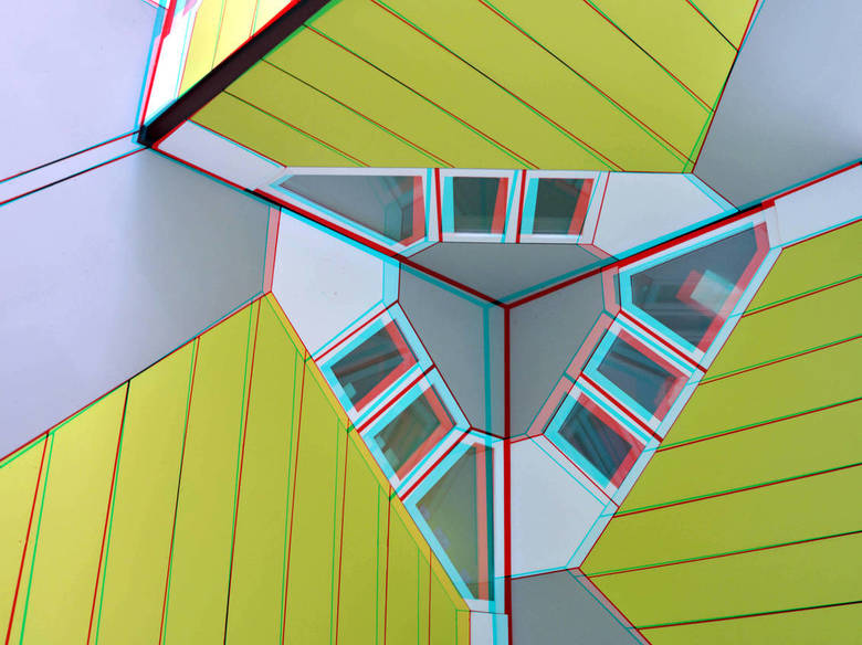 Cubic-houses Overblaak Rotterdam 3D - Cubic-houses Overblaak Rotterdam 3D