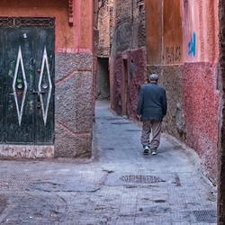 Man in the street.