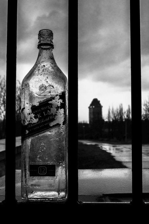 Kasteel Almere - Een lege fles en een niet uitgekomen droom.