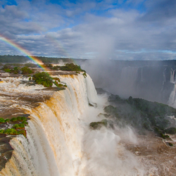 Rainbow & Waterfalls