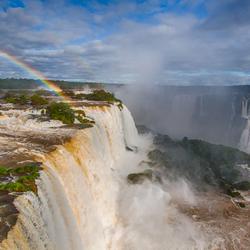 Rainbow & Waterfalls