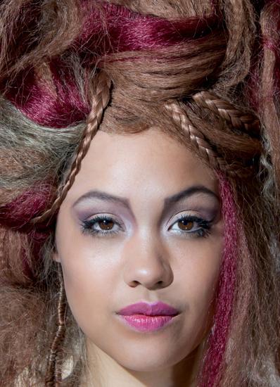 Model hair & make-up[