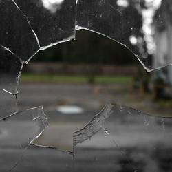 Broken glass is irreparable, it's like broken trust or promise