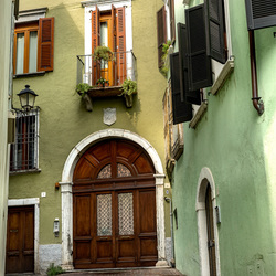 straatje  in italie