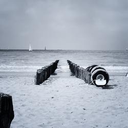 Aan zee