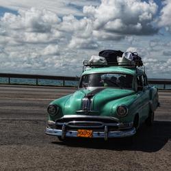 Cuba straatopname(old CaR)
