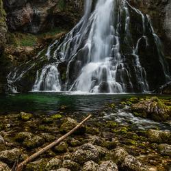 Waterval bij Golling