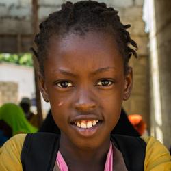 Afrikaans schoolmeisje