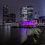 Rijnhaven in de avond,.......