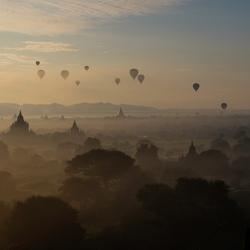 Sunset - Bagan -Myanmar