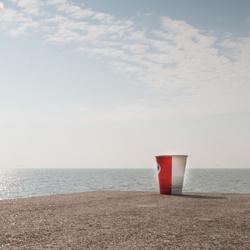 Koffie stop.