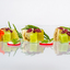 Sandwich van tongschar met komkommer