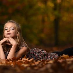 Herfst shoot van elize