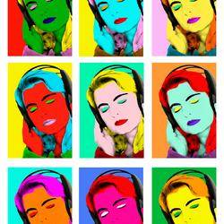 Pop-art als Andy warhol