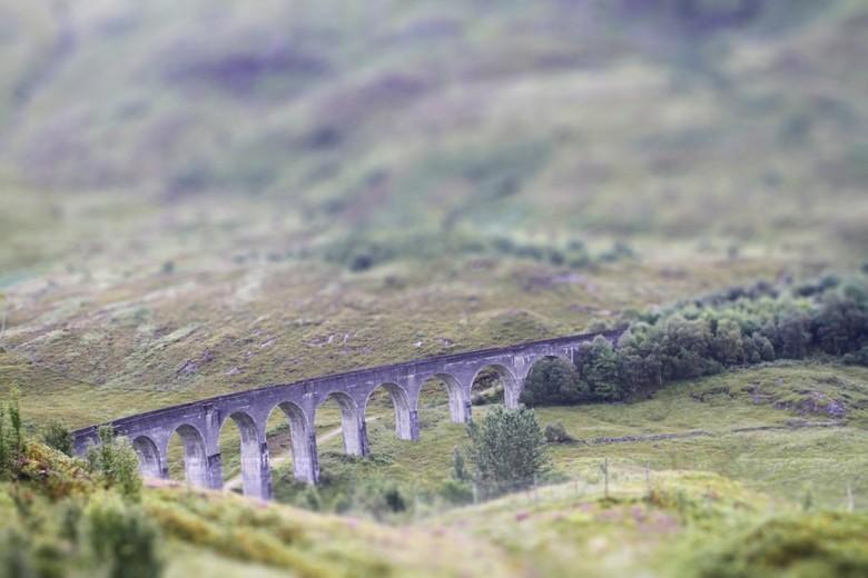 harry potter brug - Het was wat klimmen maar de moeite waard om dit viaduct te zien(schotland)