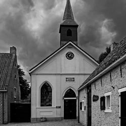 De kerk van Bourtange