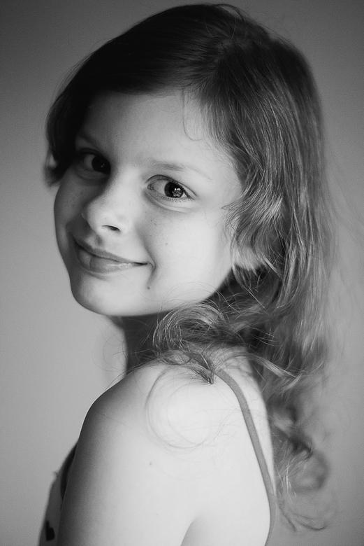Evy - Portret van mijn dochter