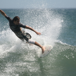 Elegante surfer
