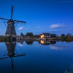 Hollands blauw uurtje