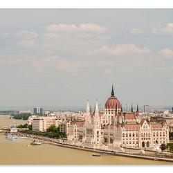 Parlementsgebouwen Boedapest