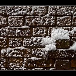 Sneeuw muur
