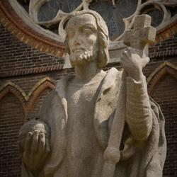 Beeld Sint Bonifatius Lwd