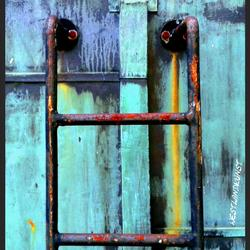 Patina Rusty Stair