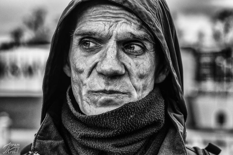 Straatkrantverkoper Rene -