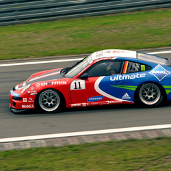 Porsche op de Nurnburgring