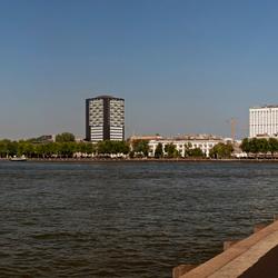 panorama vanaf Rotterdam zuid