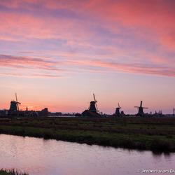 Sunset @ Zaanse Schans 3