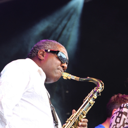 Saxofonist jazz festifal