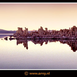Sunrise at Mono Lake, USA