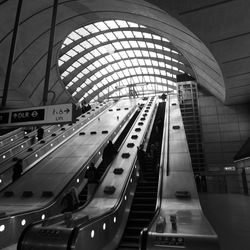 Canary Wharf Metro Station