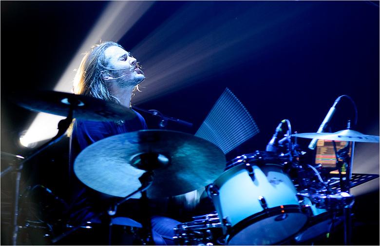 Infloyd 340 - Drummer Lasse van Infloyd op het DRU-Poppodium Ulft 2019.