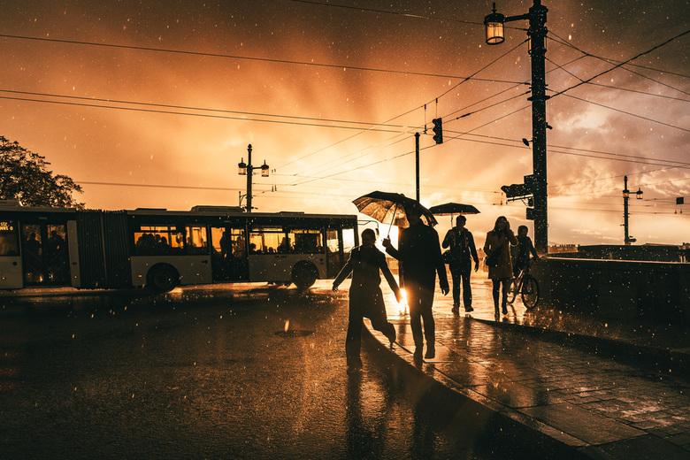 Capture the moment: Wolkbreuk in St. Petersburg (2) - - Eerder een crop geupload, dit is het volledige beeld -<br /> <br /> Tijdens een reis naar Ru