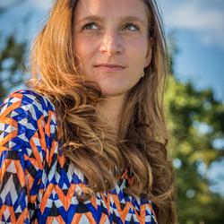 Portret van model Rebecca