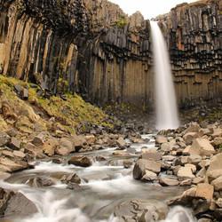 IJsland Svartifoss
