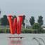 P1070683  W nu ROOD  Wollebrand Surfplas  30 juni 2019