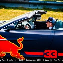 Max Verstappen bocht 9 - Circuit Zandvoort