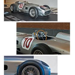 Foto serie  Mercedez - Benz  2,5 Litre Racing car ( jaren 1950)