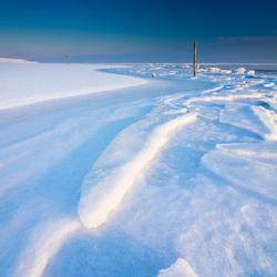 Winter op het wad