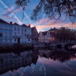 Brugge in de morgen.