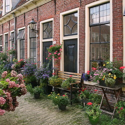 Hofje in Groningen.