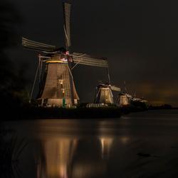 Kinderdijk in the spotlights