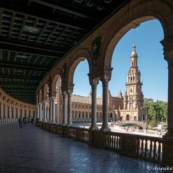 Sevilla Plaza d' España 2
